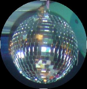 disco ball round