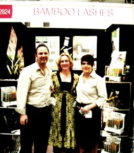 Amanda and the Lilash Team at the Beauty Expo