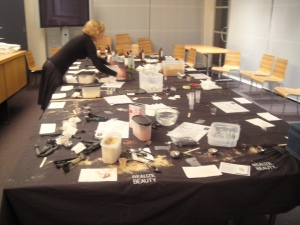 messy table after ultimo science festival