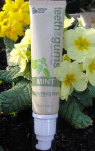 pure and greens toothpaste