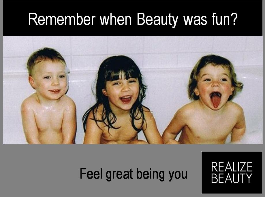remember when beauty was fun