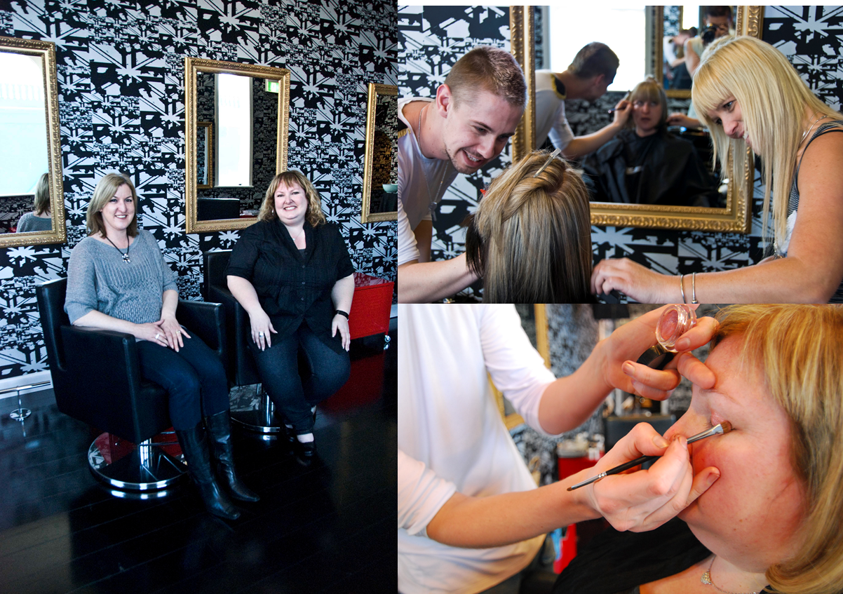 That s life magazine make over friday realize beauty for A thomas cousins salon
