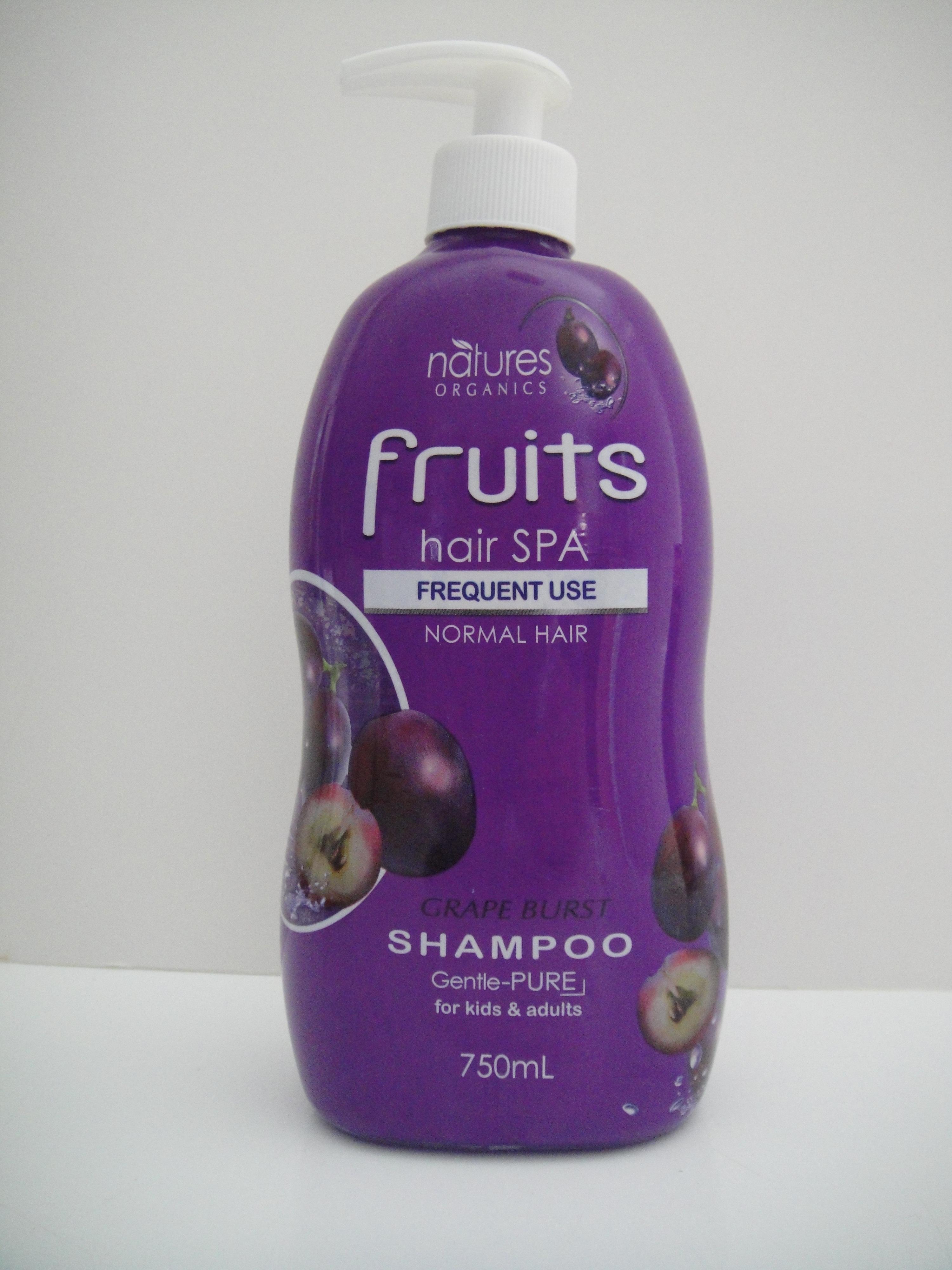 Natures Organics Shampoo