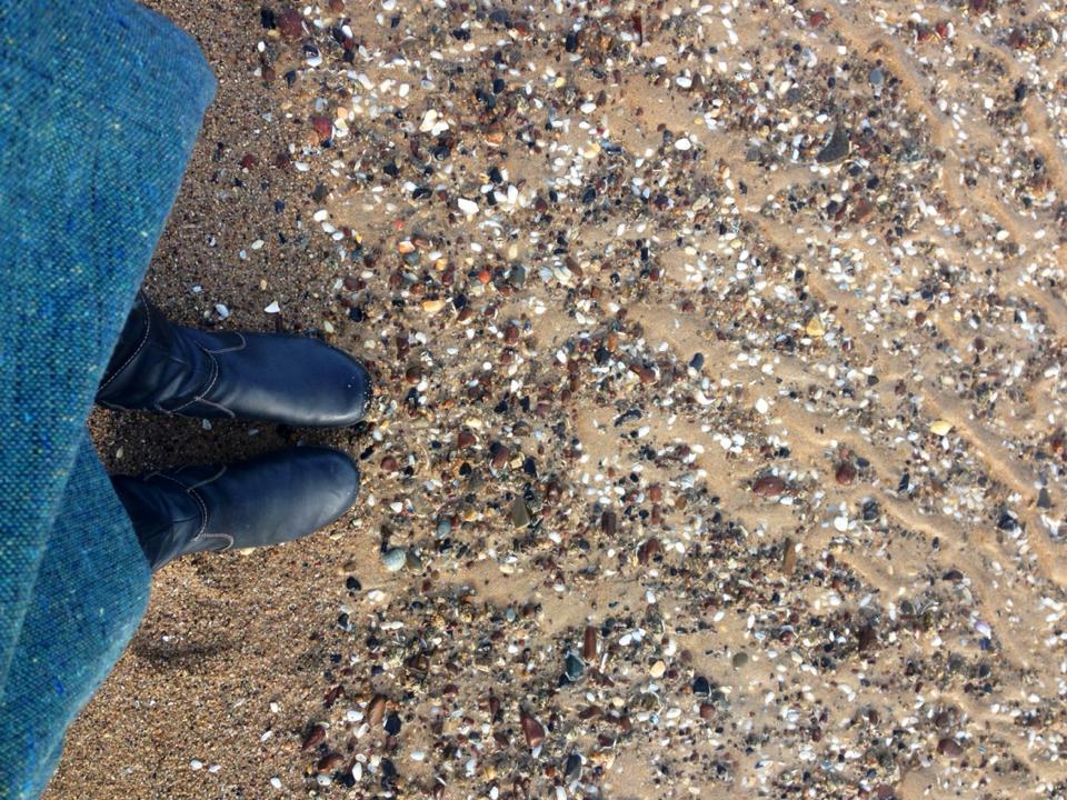 thinking feet