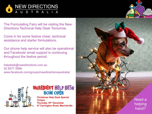 New Directions Christmas Helpdesk