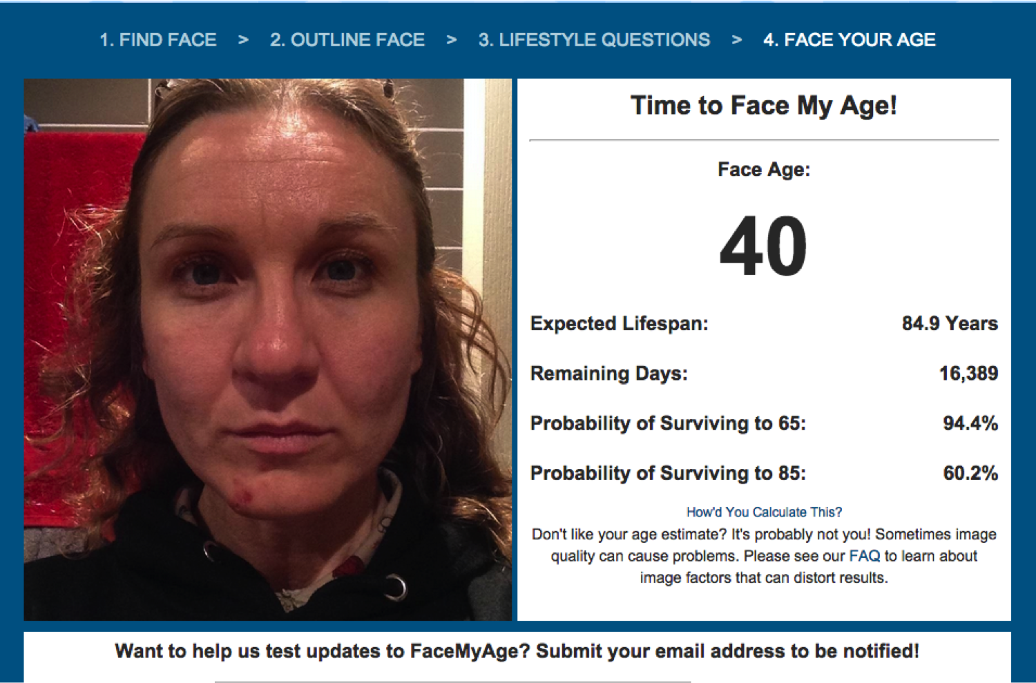 I look young for my age dating