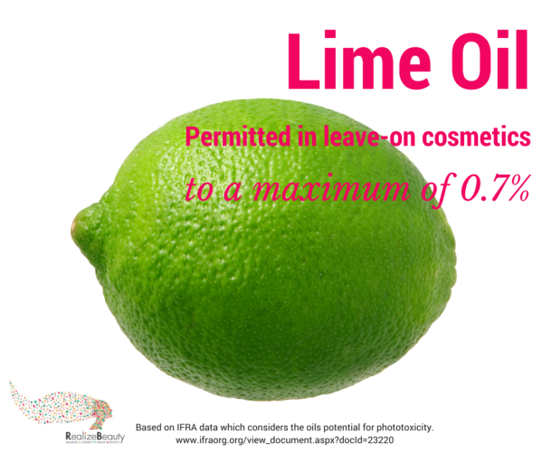 Lime Oil for IFRA