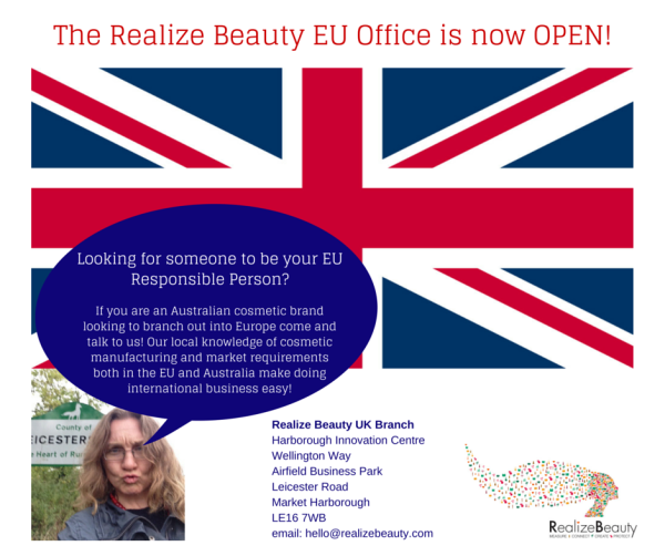 The Realize Beauty EU Office opening