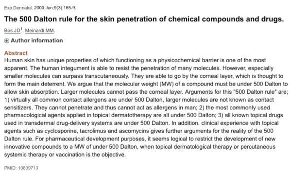 Chemistry of beauty essay